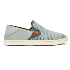 OluKai Pehuea Shoes Dame pale grey/charcoal